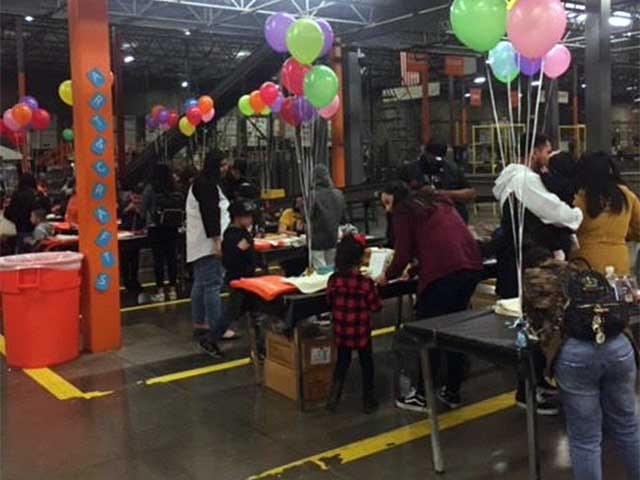 Home Depot Celebrating Family Day With Pizzarageous