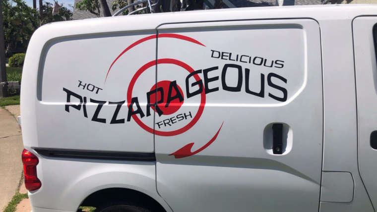 Affordable Catering Mobile Pizza Oven