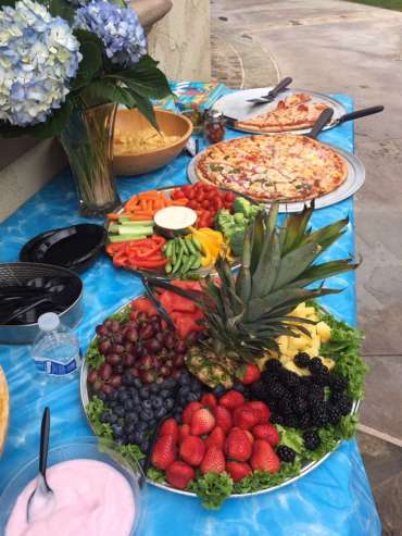 Wedding Fruit Platter